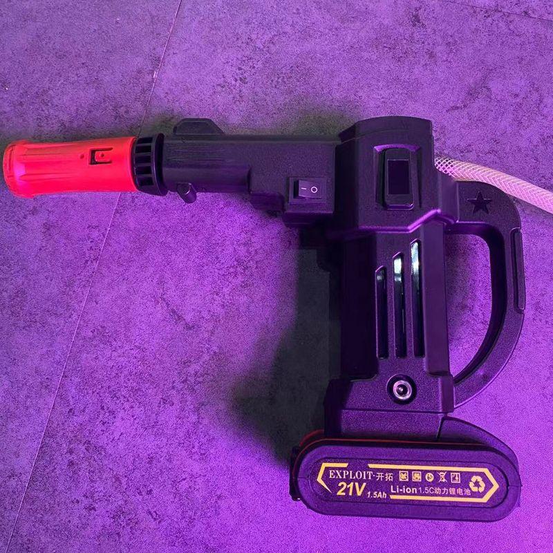 开拓21V锂电洗车机  选配电池48分钟  60分钟  90分钟