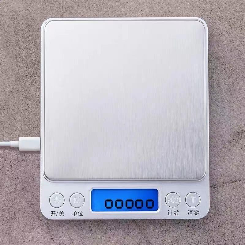 精密电子秤 口袋秤 克重秤 食品蛋糕秤 称黄金秤 电子厨房烘焙秤