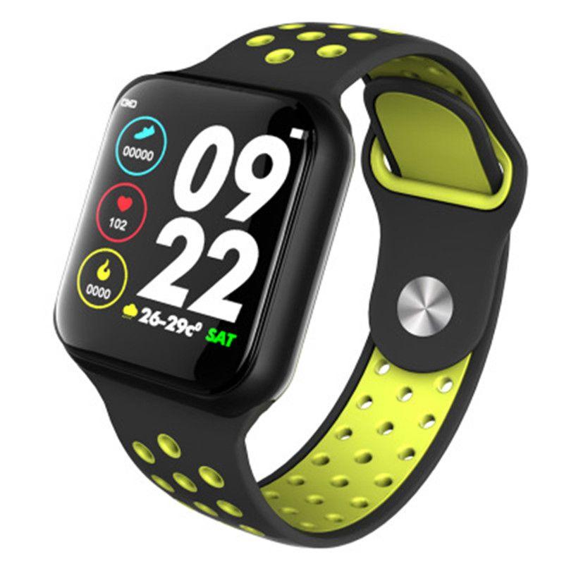F8智能手环心率血压监测信息提醒防水运动手环厂家直销