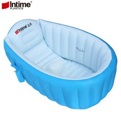 盈泰婴儿充气折叠浴盆游泳池洗澡盆厂家直销跨境商品