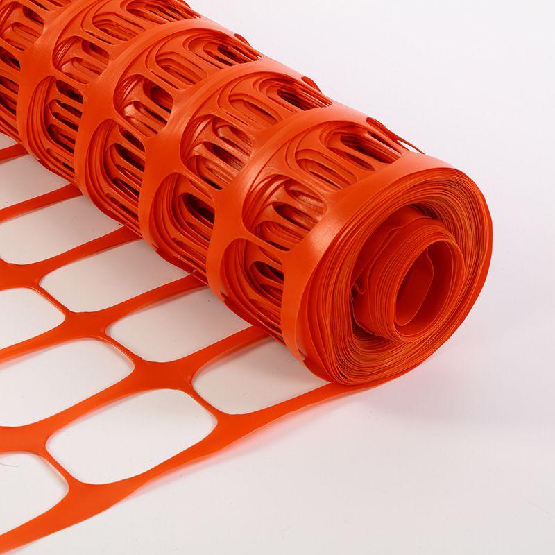橙色安全防护网 电力警示围栏网 建筑塑料网雪地工地施工警示围网