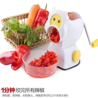 多功能绞肉灌肠机手动绞肉机研磨搅碎机