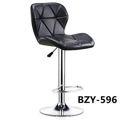 吕字家具厂家直销吧台椅升降靠背椅现代简约电脑椅旋转前台高脚凳收银椅子美甲椅子