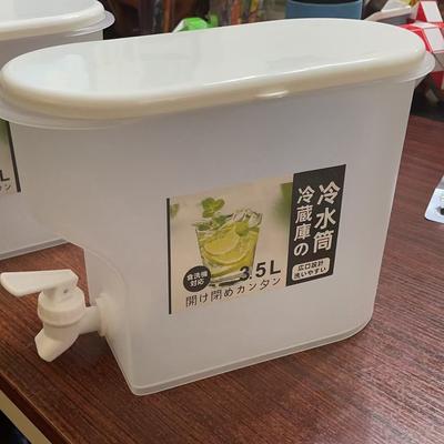冷水桶塑料冷水壶带龙头凉水壶水果茶壶冰水桶抖音爆款冷水桶