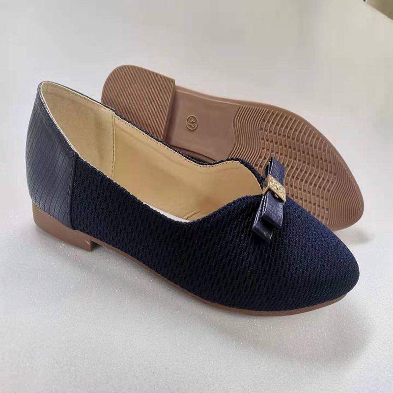 PU女士浅口单鞋高跟坡根平跟粗跟如图单鞋拖鞋耐穿防臭多色品质好女鞋优质淑女鞋44225-52#