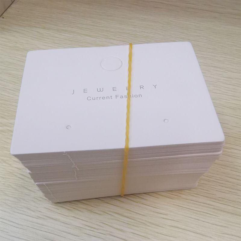 现货 饰品包装 耳钉卡片8x6cm