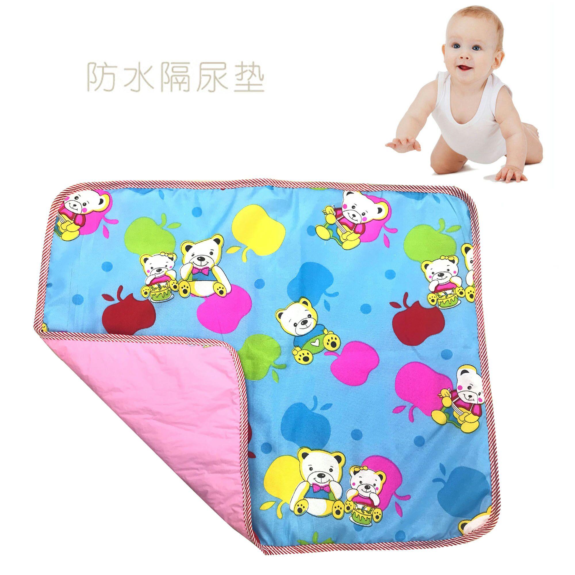 婴儿印花防水 中号隔尿垫 均码防尿湿可洗尿布男女宝宝通用75*60