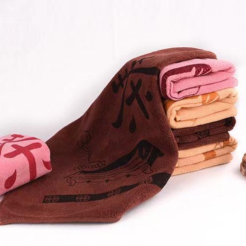 超细纤维茶韵巾