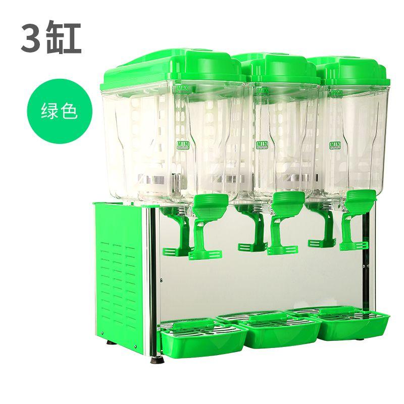 三缸商用全自动果汁机冷热饮机