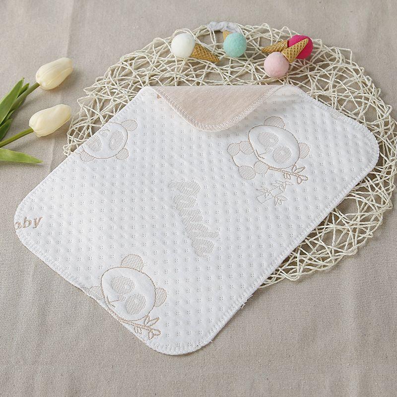 厂家直销婴儿纯棉隔尿垫宝宝彩棉尿垫尿不湿防水透气可洗双面可用