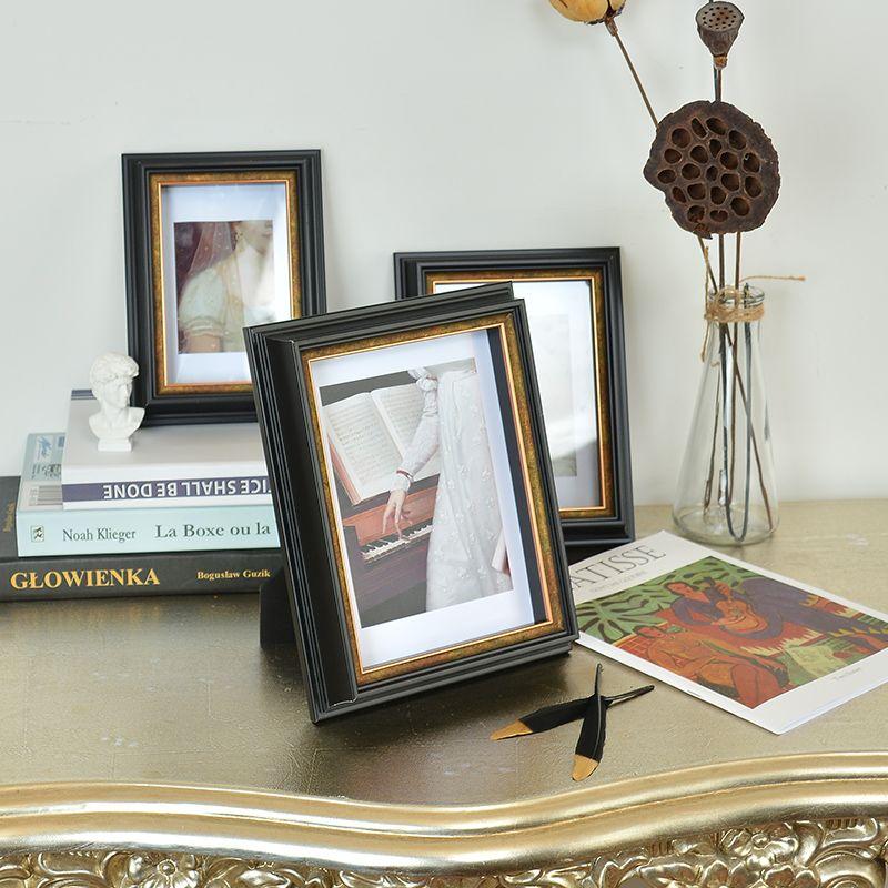 欧式6 7 8 10寸相框摆台现代简约个性创意定制任意尺寸免打孔挂墙