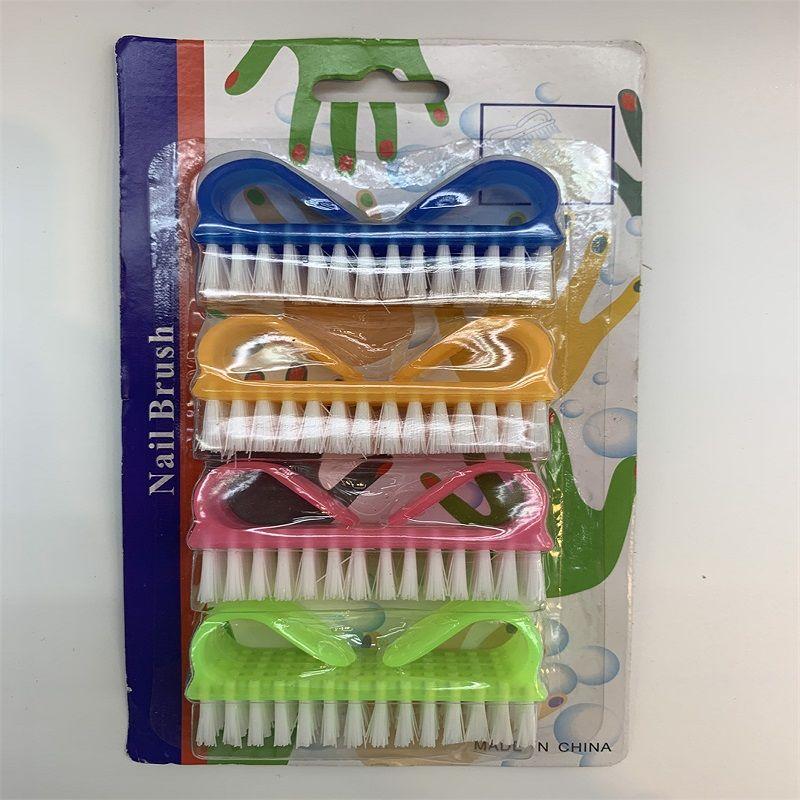 义乌好货 日用百货塑料制品 塑料指甲刷4719 指甲及头部清洁护理 小龙虾清洁
