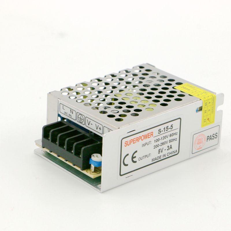 显示屏专用 DC 5V3A LED开关电源15W 安防/适配器电源