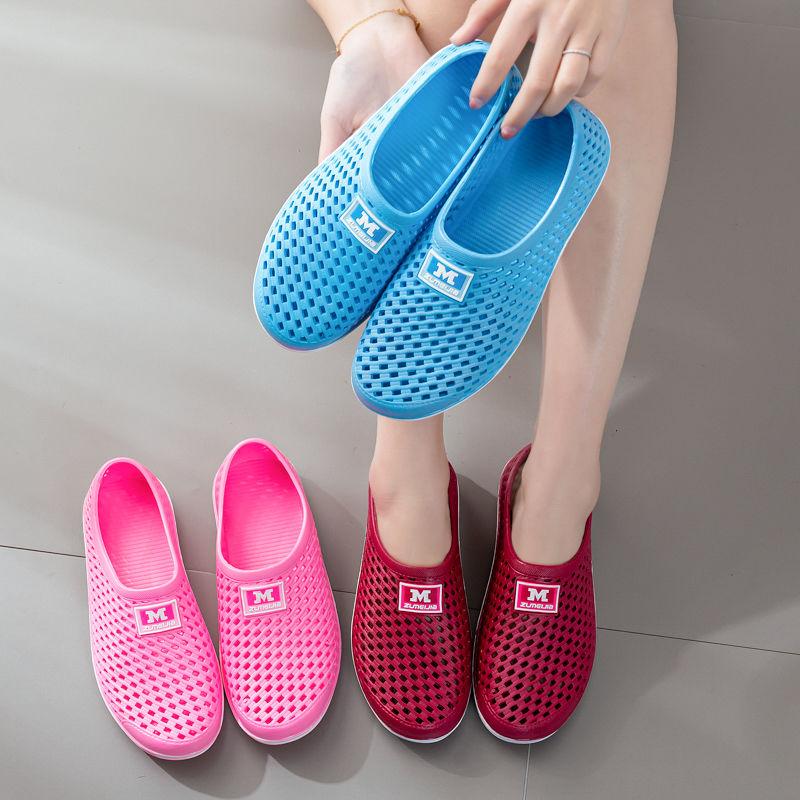 新款包头女鞋夏季凉快透气运动鞋