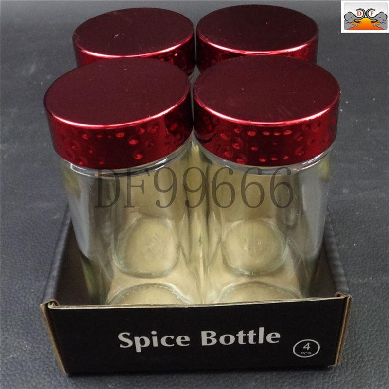 DF99666 红色调料瓶套装 DF Trading House