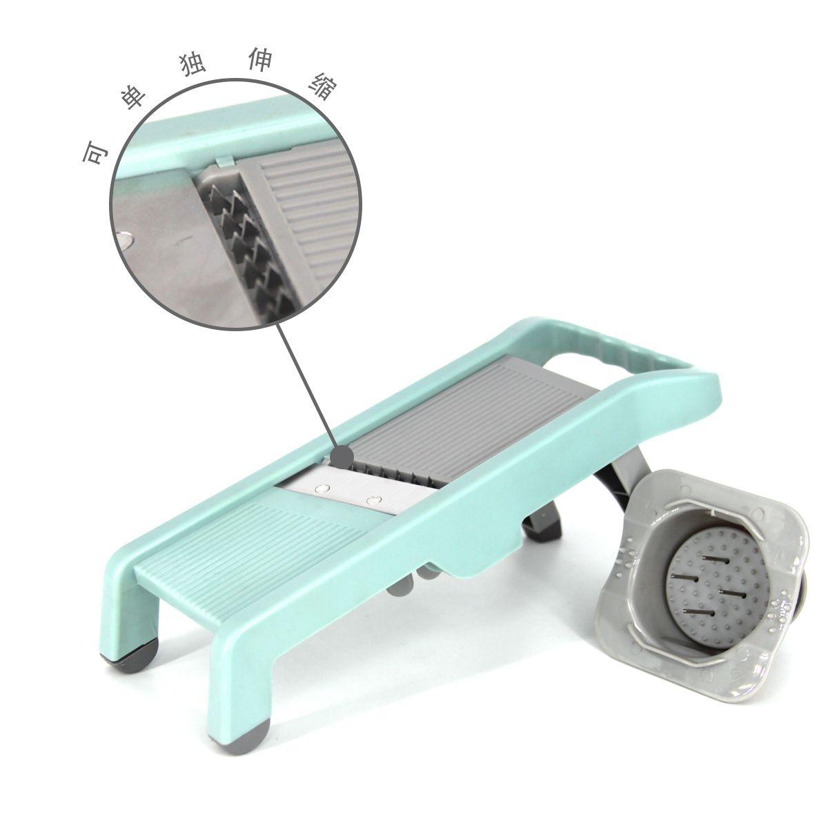 新品家用多功能不锈钢切菜器切丝器刨丝器切片器厨房用料理器