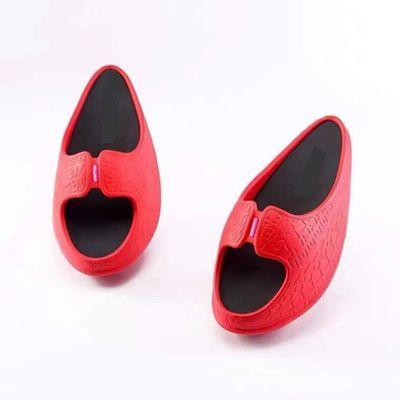 新款网红爆款PVC吹气高跟提臀变瘦保健摇摆拖鞋现货批发