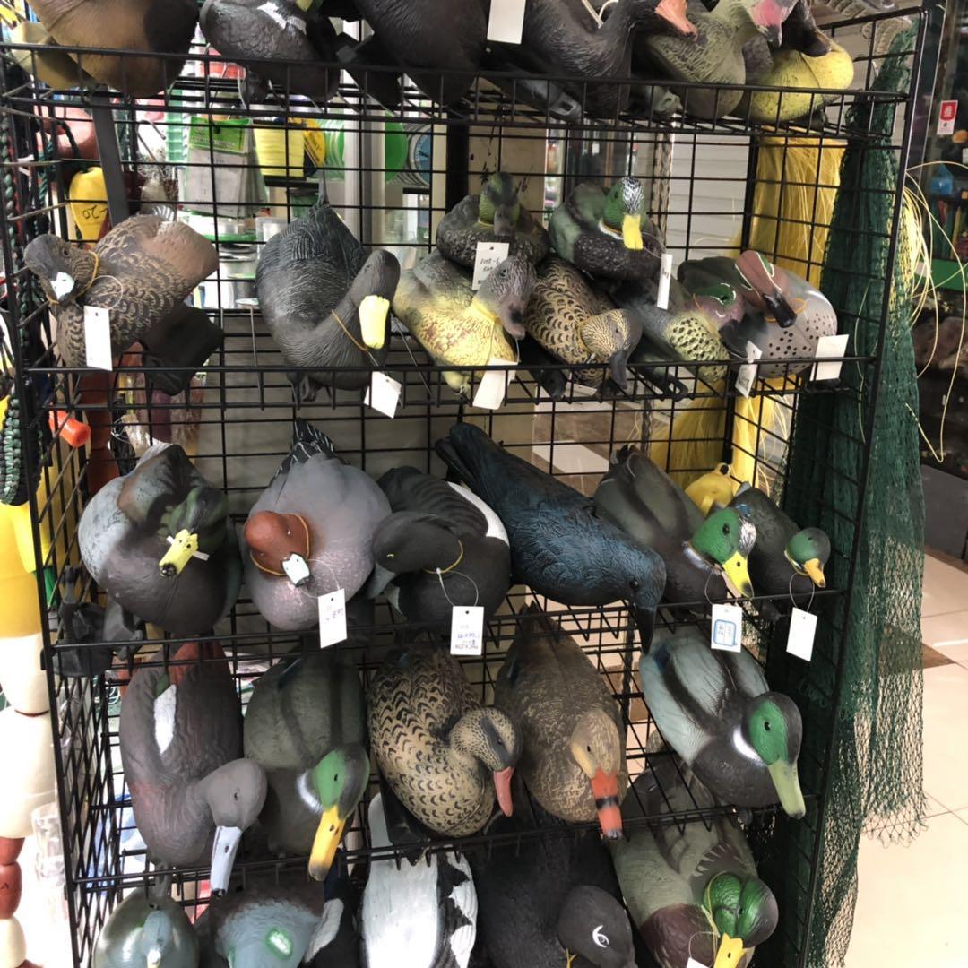 出售塑料鸭子园林装饰用打猎诱饵可定做不同型号