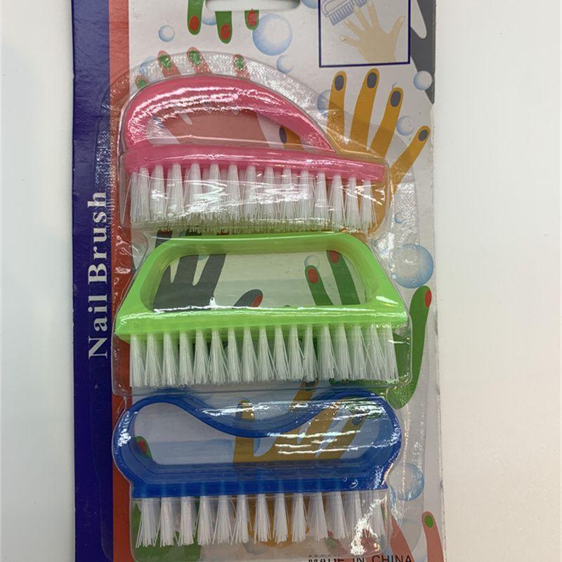 义乌好货 日用百货塑料制品 塑料指甲刷4725 指甲及头部清洁护理 小龙虾清洁