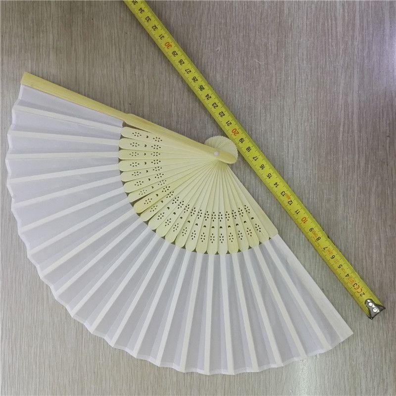 素面布扇 女扇 白布扇 折扇 空白扇子 素色扇子1