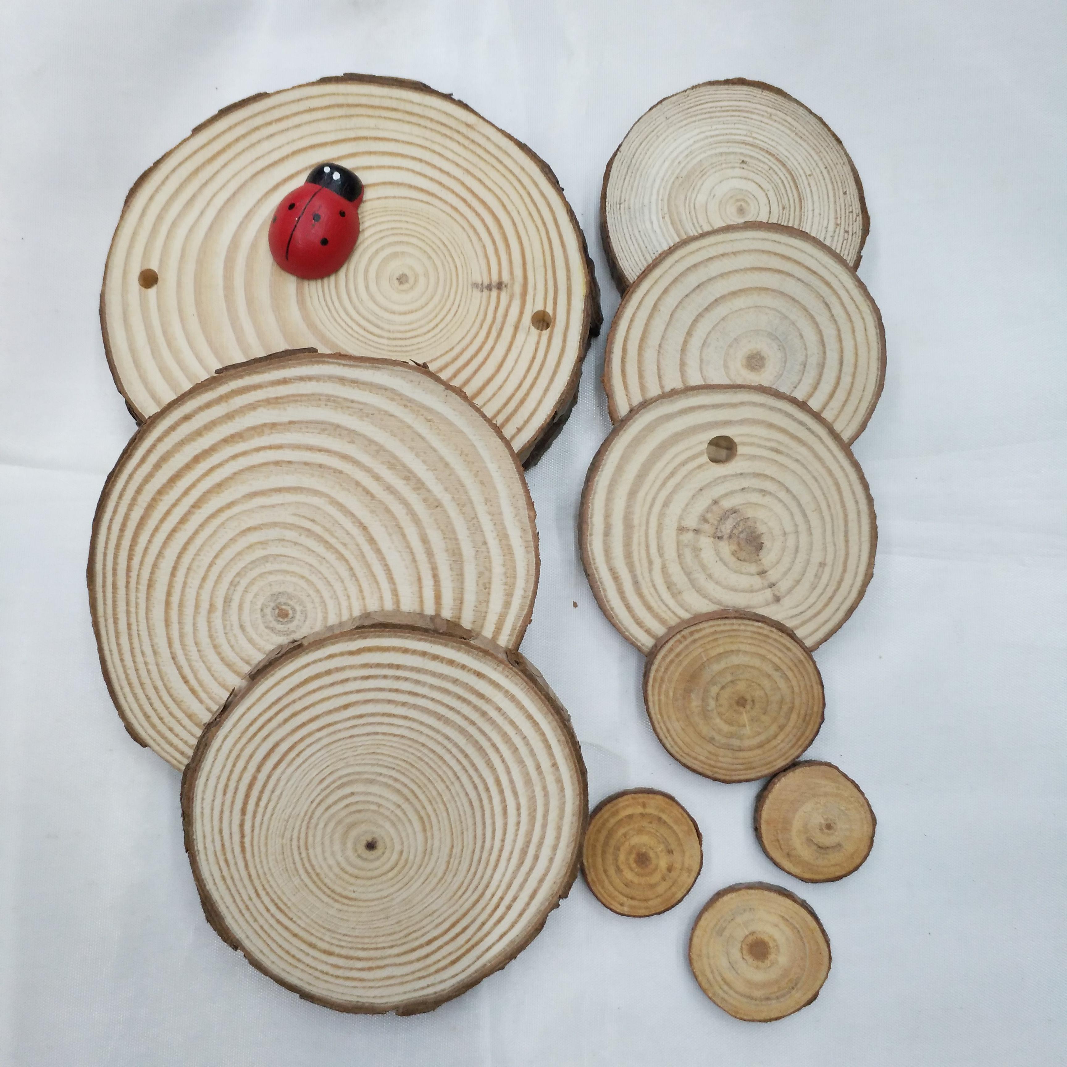 松木片多种规格DIY手工制作工艺装饰配件