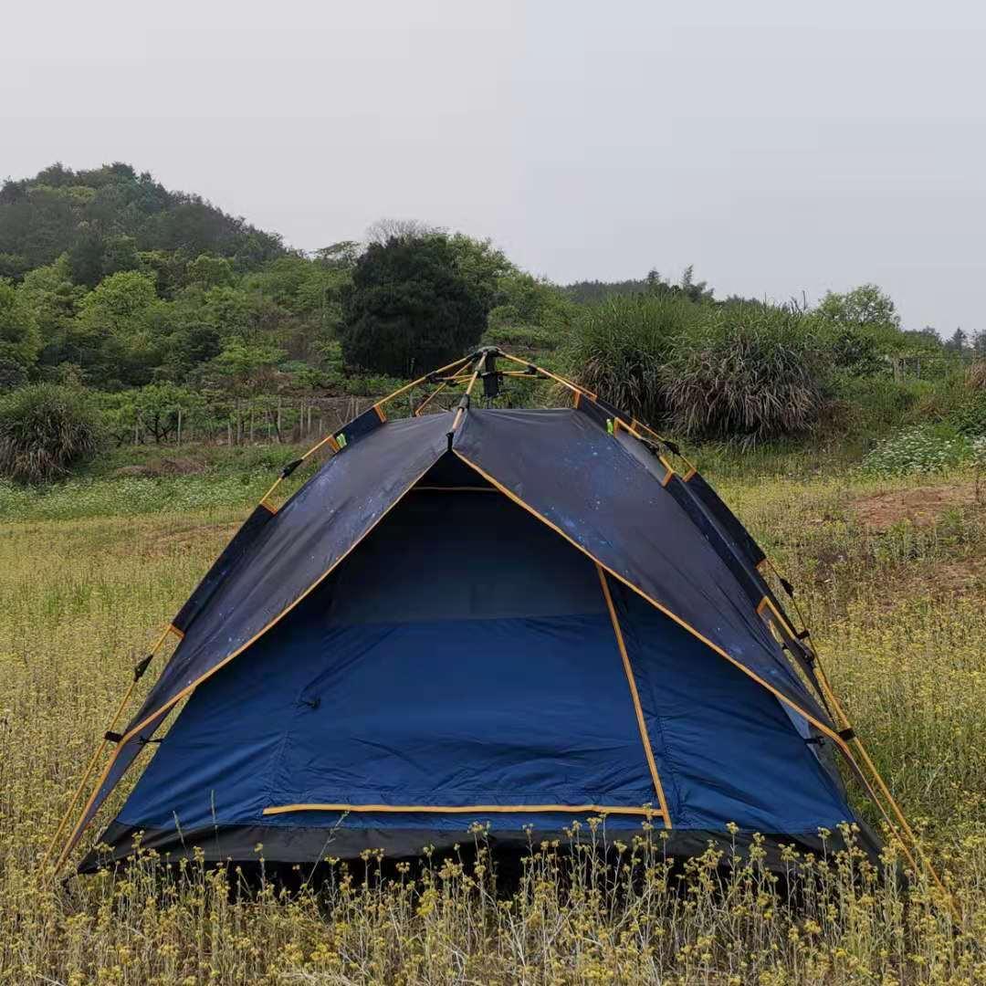 3-4人 户外远足帐篷两用 可拆卸