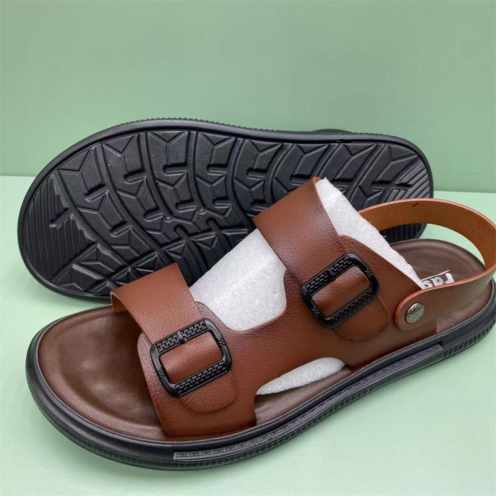 外贸批发男凉鞋夏季新款露趾凉拖鞋子男沙滩鞋70