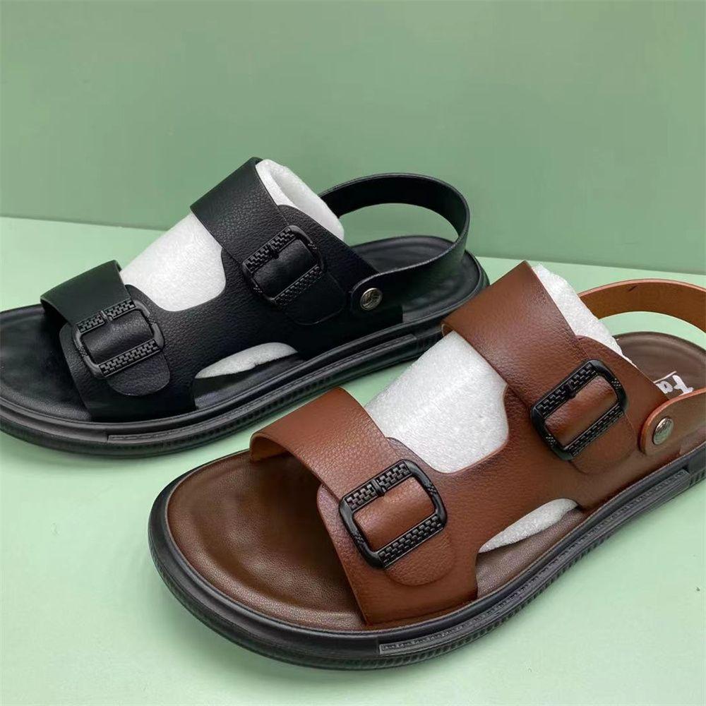 外贸批发男凉鞋夏季新款露趾凉拖鞋子男沙滩鞋69