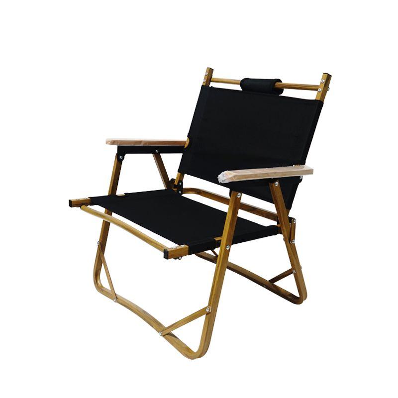 户外折叠木纹铝合金矮椅 便携折叠沙滩钓鱼椅 克米特椅露营小椅子
