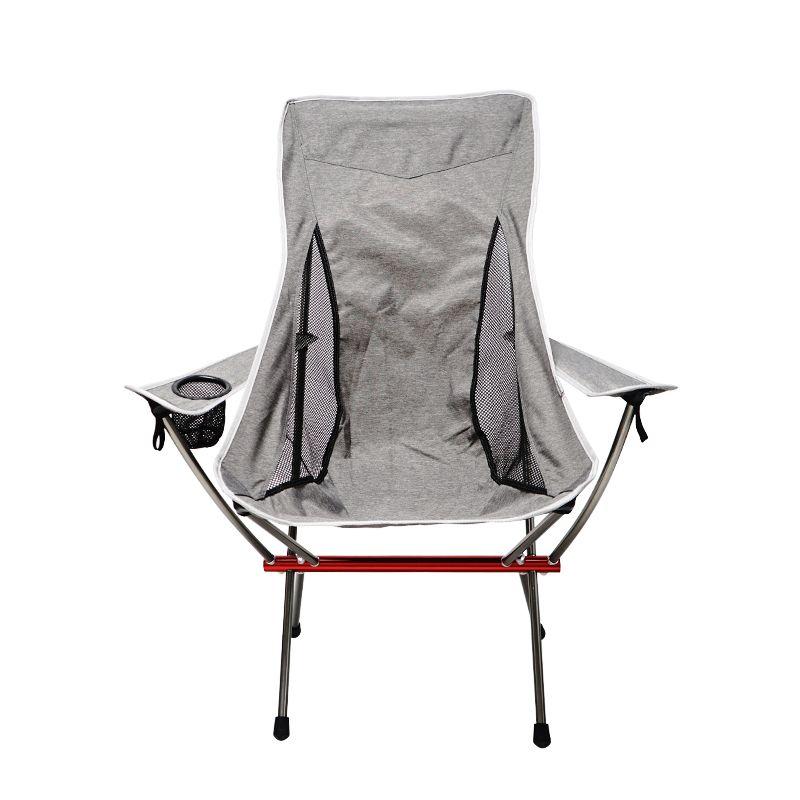 扶手户外全铝露营烧烤沙滩椅 休闲便携透气靠背椅 舒适钓鱼椅