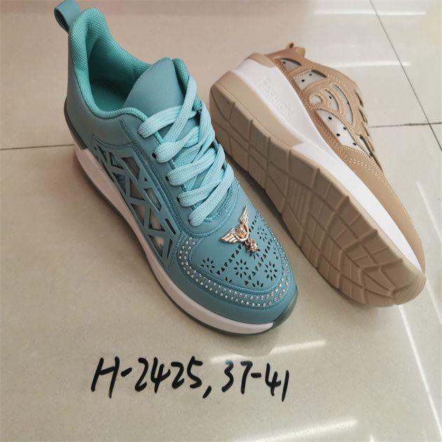 新款外贸透气软底跑步鞋韩版休闲时装鞋72