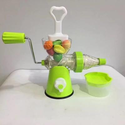 手摇原汁机多功能榨汁机手动原汁水果机迷你冰淇淋机豆浆机