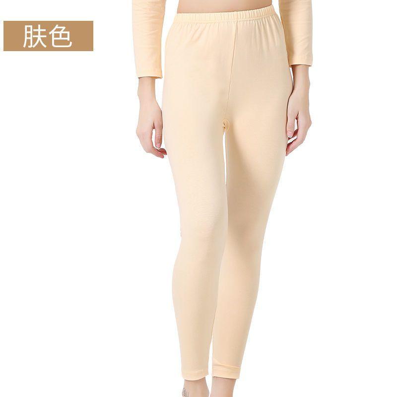 秋裤单件修身薄款打底裤高弹舒适保暖长裤线裤690