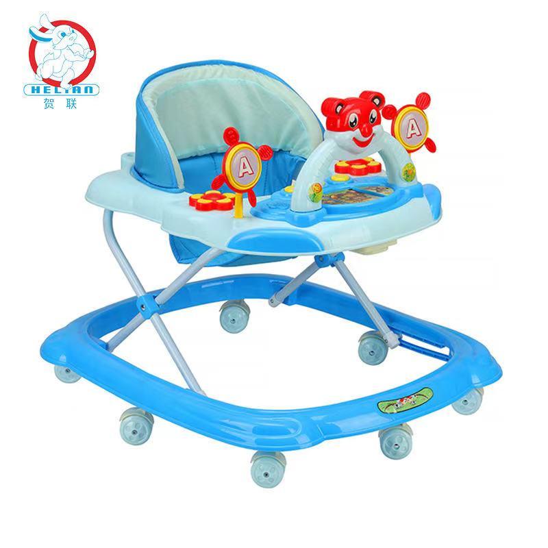 婴儿早教学步车可手推儿童学步车带音乐灯光学步车防o型腿k205