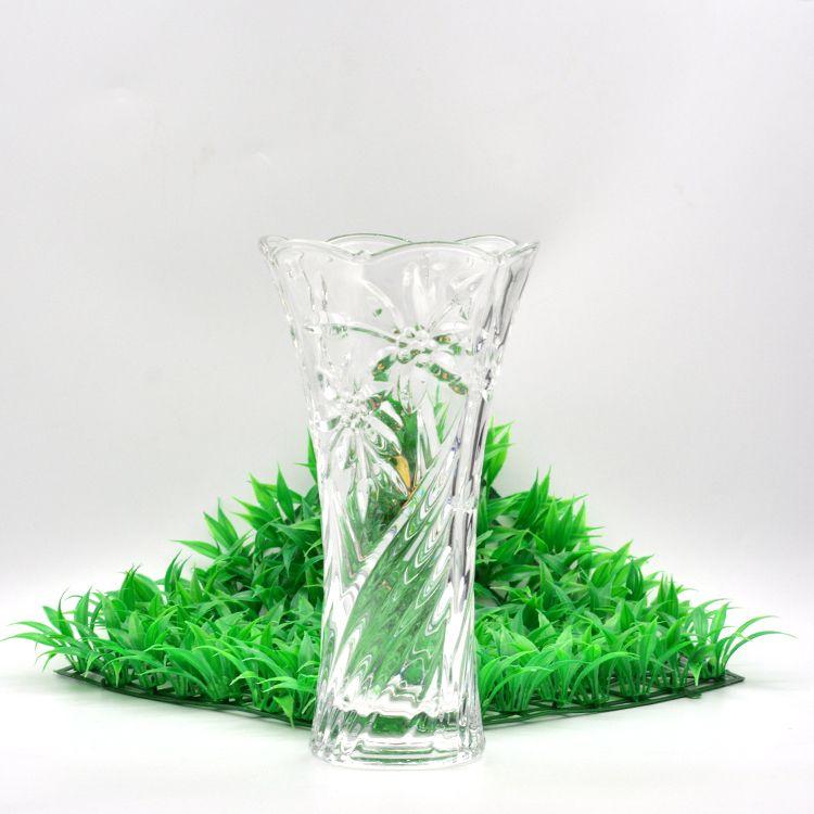 家居装饰台面水晶玻璃花瓶HP-15