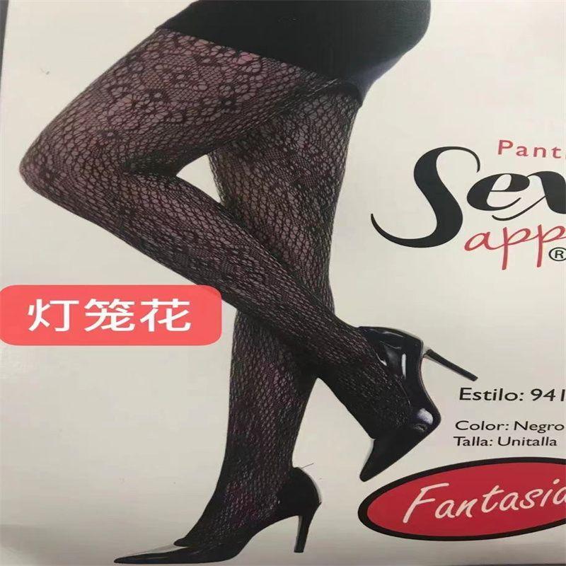 欧美新款网袜内衣透明蕾丝镂空紧身连体丝袜性感兔脱套装批发 NO54
