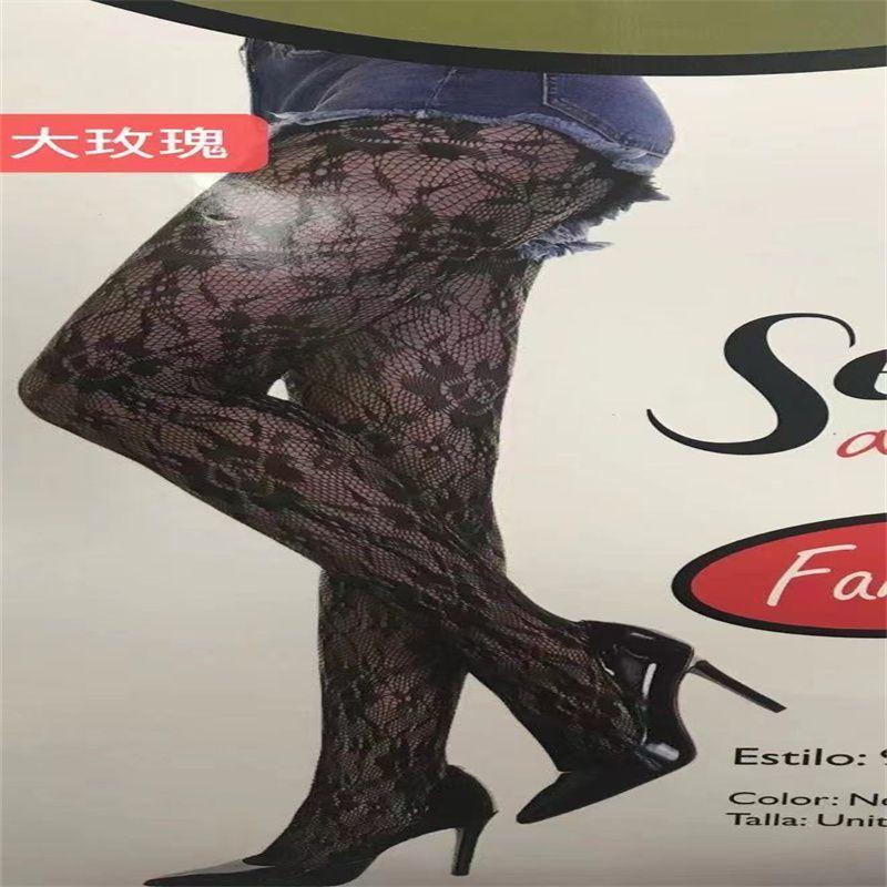 欧美新款网袜内衣透明蕾丝镂空紧身连体丝袜性感兔脱套装批发 NO55