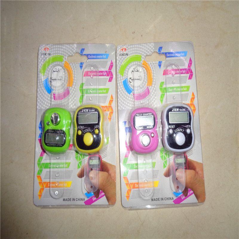 念佛计数器电子戒指型数显计数器学生健身运动计数器地摊货源厂家直销