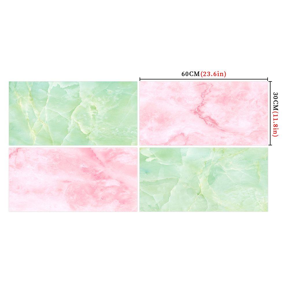 混色仿真水晶大理石纹墙贴防水耐磨地板贴浴室卫生间改装贴纸