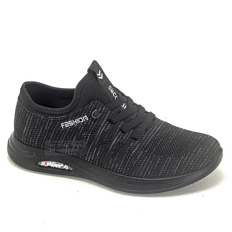 2021新款男士聚氨酯休闲鞋透气飞织运动单鞋时尚耐磨低帮男鞋批发订做
