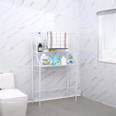 普通款洗衣机置物架 带毛巾架  白/黑