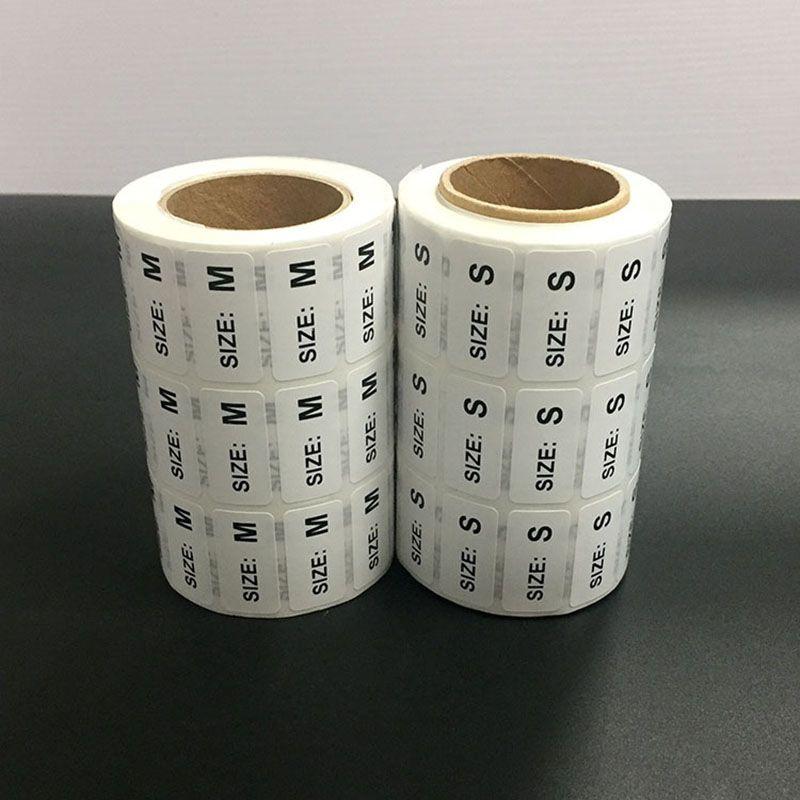 服装尺码标签
