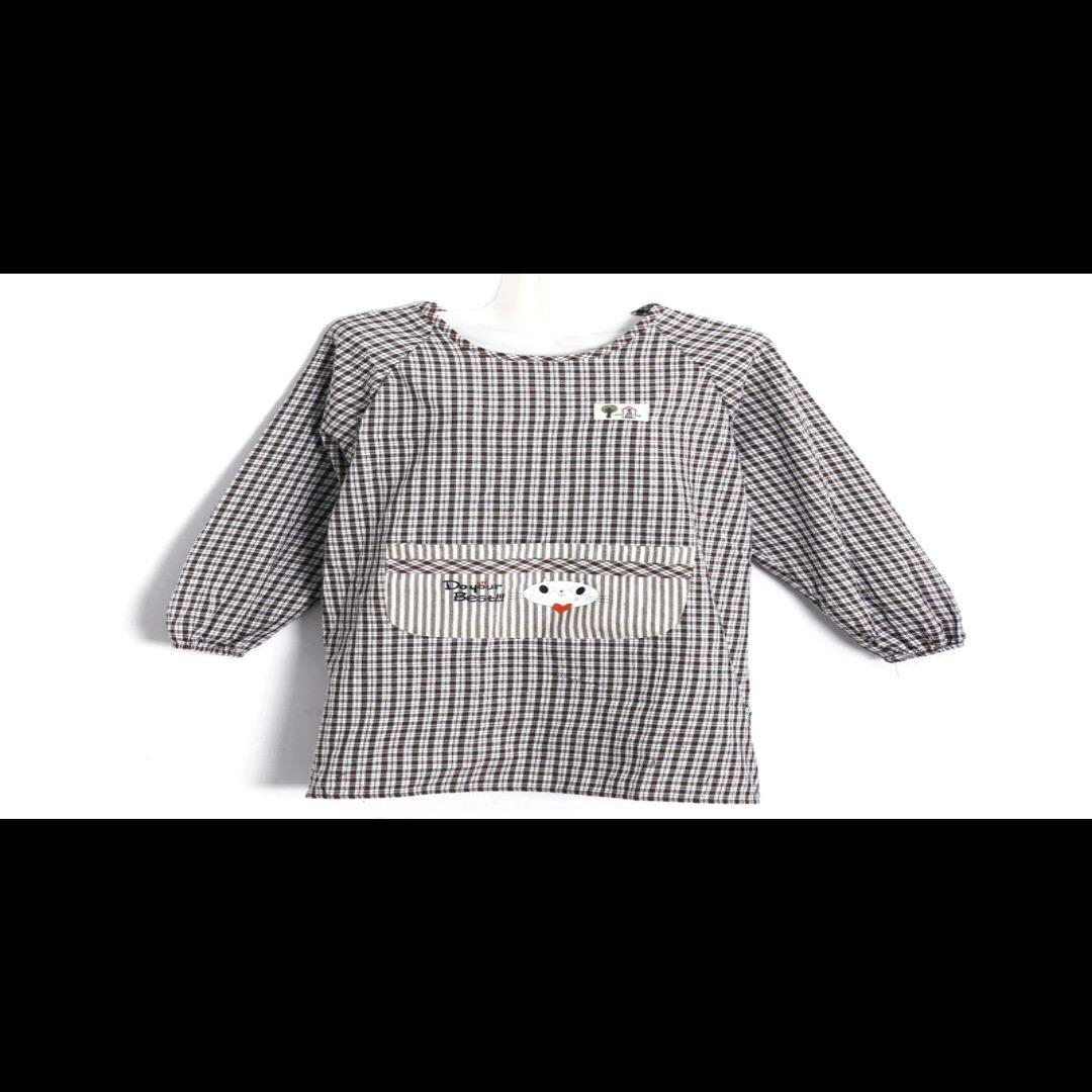 价格面议厨房围裙长袖防水防油加厚时尚家用做饭罩衣成人女722