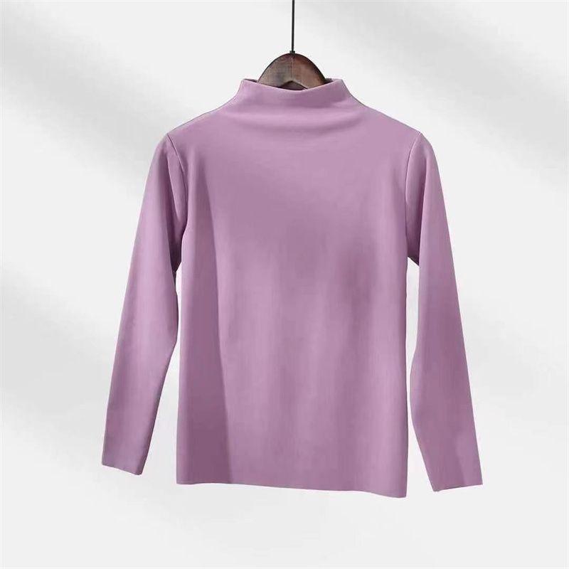 秋冬新款女士打底衣长袖舒适棉外穿打底上衣休闲宽松套头时尚108