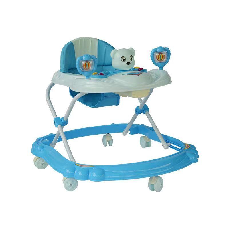 婴儿早教学步车可手推儿童学步车带音乐灯光学步车防o型腿321