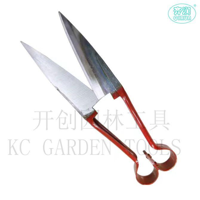 手工羊毛剪园林工具修枝剪花园剪切草剪锋利厂家直供219