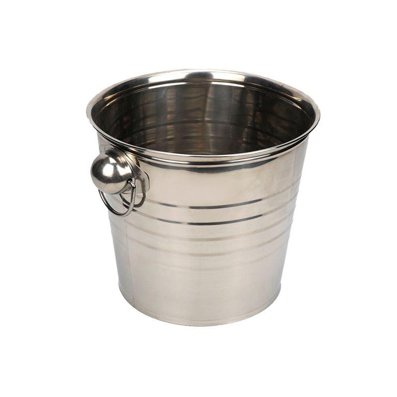 不锈钢水桶双耳大容量家用油桶储水酒店餐厅提水桶