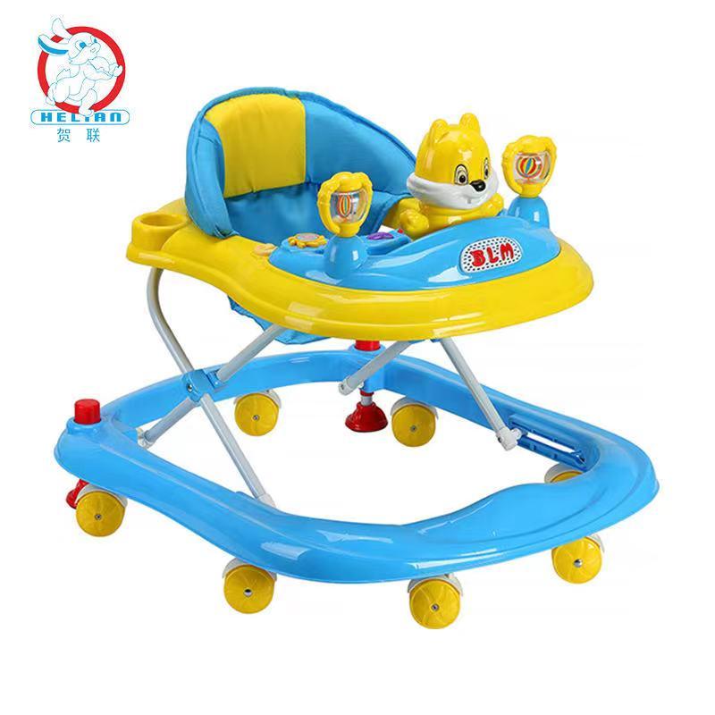 婴儿早教学步车可手推儿童学步车带音乐灯光学步车防o型腿833