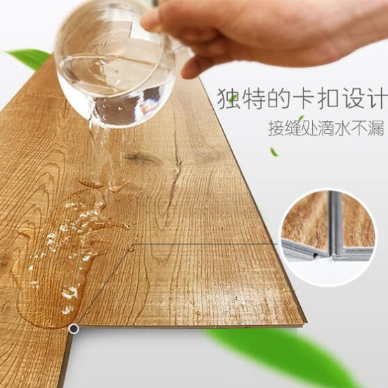 热销石塑地板塑料地板SPC地板锁扣地板4mm地板翻新商场办公卧室客厅家居木纹宾馆饭店