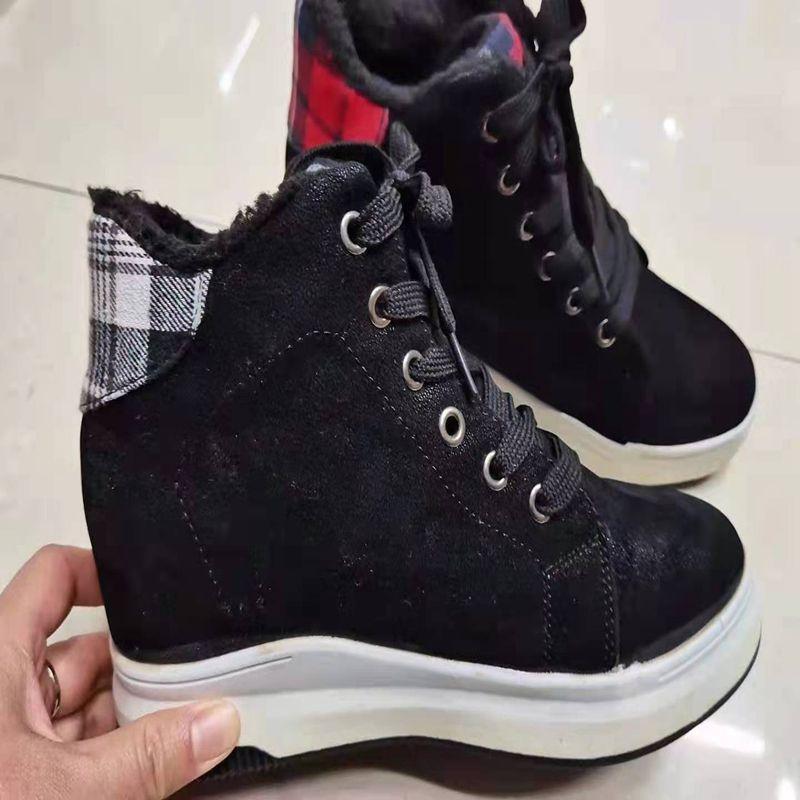 43238休斯鞋业 外贸批发 冬季保暖时尚百搭雪地靴简约一脚蹬短靴女靴雪地靴XS0219
